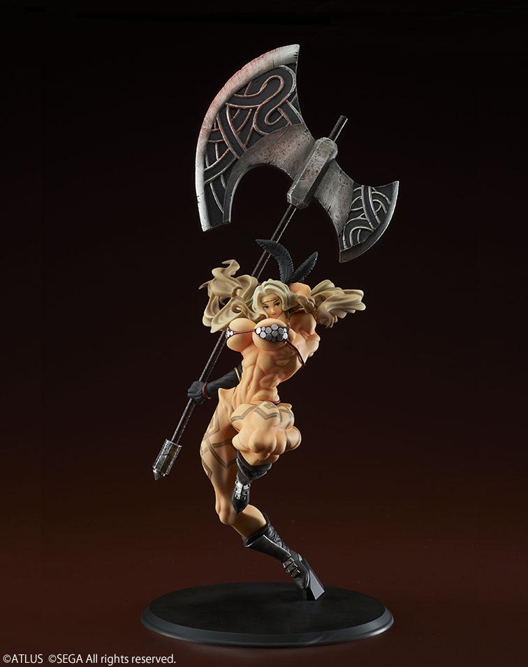 【画像】「女斧使い」(CV.田中敦子)のガチムチフィギュアが発売